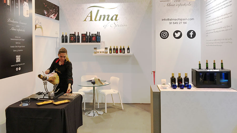 Alma of Spain en la Feria Gourmet 2017